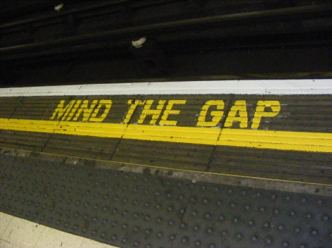 Mind the gap | London Undergorund