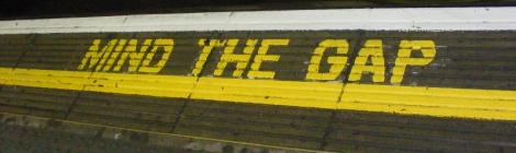 Mind the gap | London Undergorund