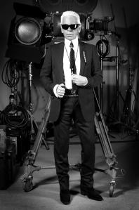 Karl Lagerfeld Selbstportrait