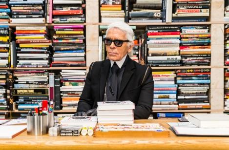 Arbeitssituation von Karl Lagerfeld
