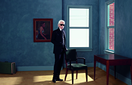 Karl Lagerfeld - Selbstportrait, 2011 Aus der Serie Suite 3 Atelier Fendi