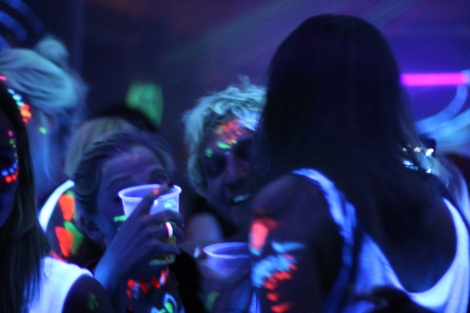 UV Party Leuchtende Getränke
