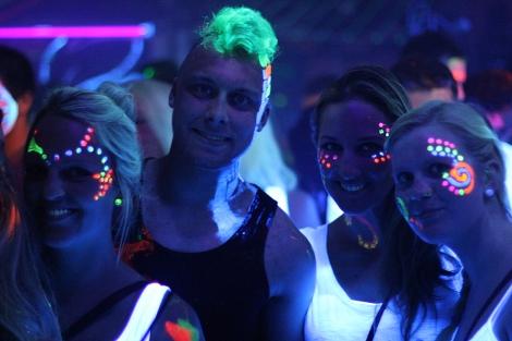 UV Party Neonlicht