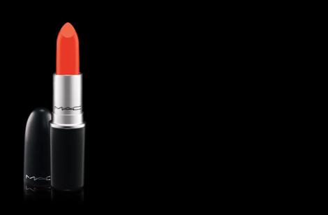 MAC morange matte lipstick