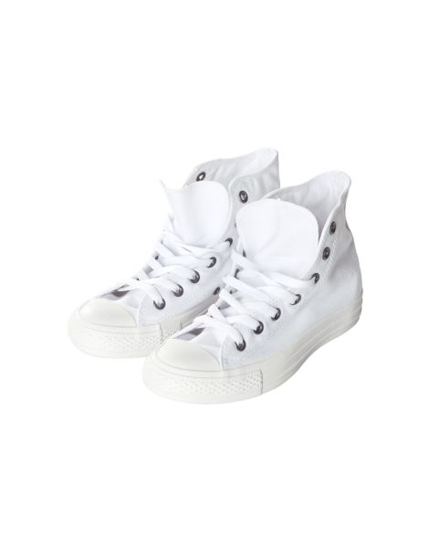 Chucks mono white Hi