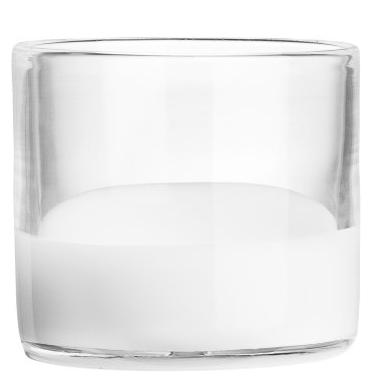 Teelichthalter-h&m-home-weiss-glas