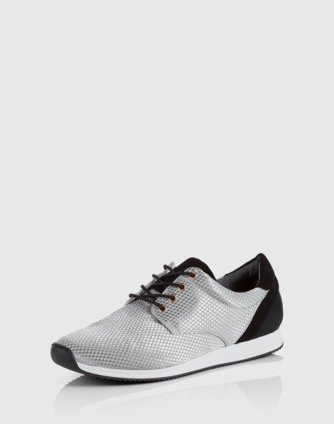 Vagabond Kasai Sneaker silber